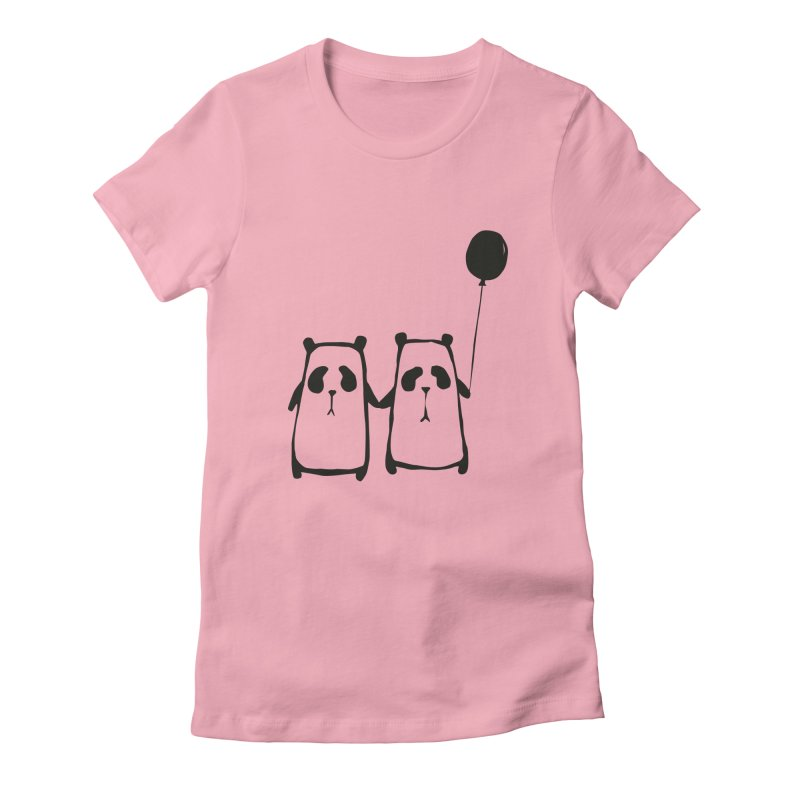 Friends 4 ever Women's Fitted T-Shirt by Boshik's Tshirt Shop