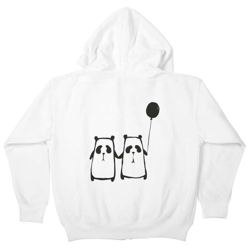 Friends 4 ever Kids Zip-Up Hoody by Boshik's Tshirt Shop