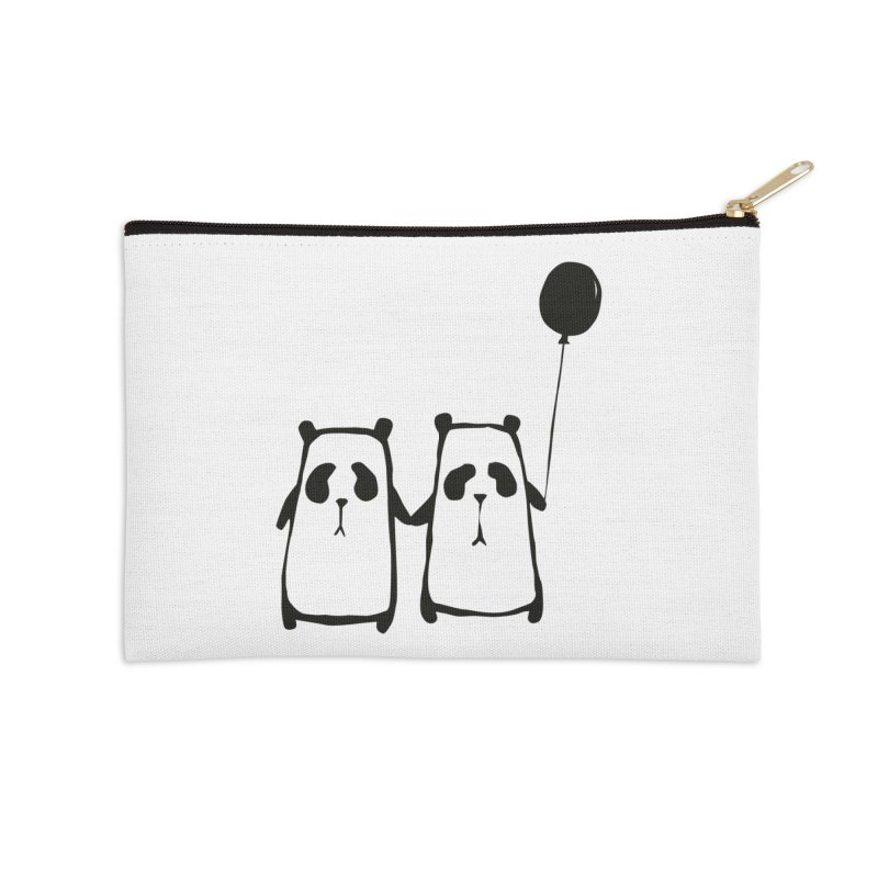 Friends 4 ever Accessories Zip Pouch by Boshik's Tshirt Shop