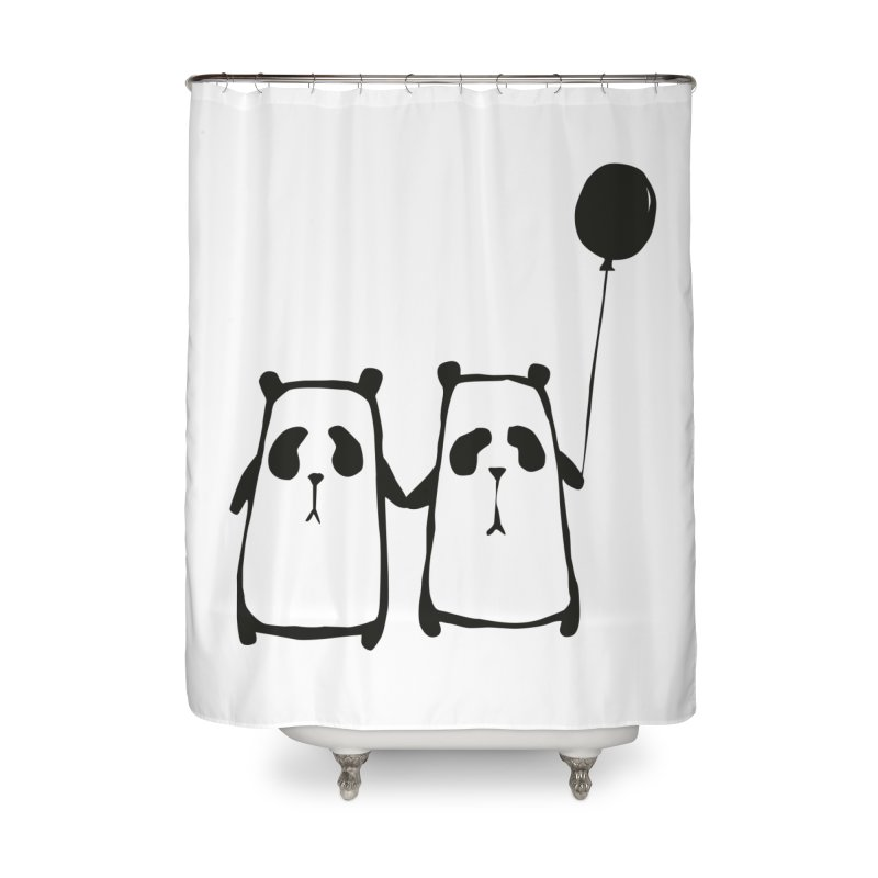 Friends 4 ever Home Shower Curtain by Boshik's Tshirt Shop