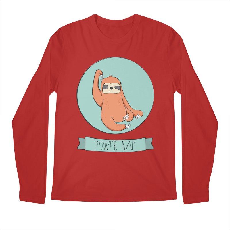 Power Nap Men's Longsleeve T-Shirt by Boshik's Tshirt Shop