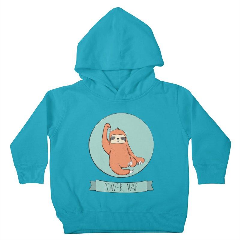 Power Nap Kids Toddler Pullover Hoody by Boshik's Tshirt Shop