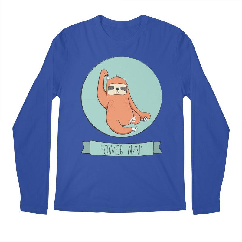 Power Nap Men's Regular Longsleeve T-Shirt by Boshik's Tshirt Shop