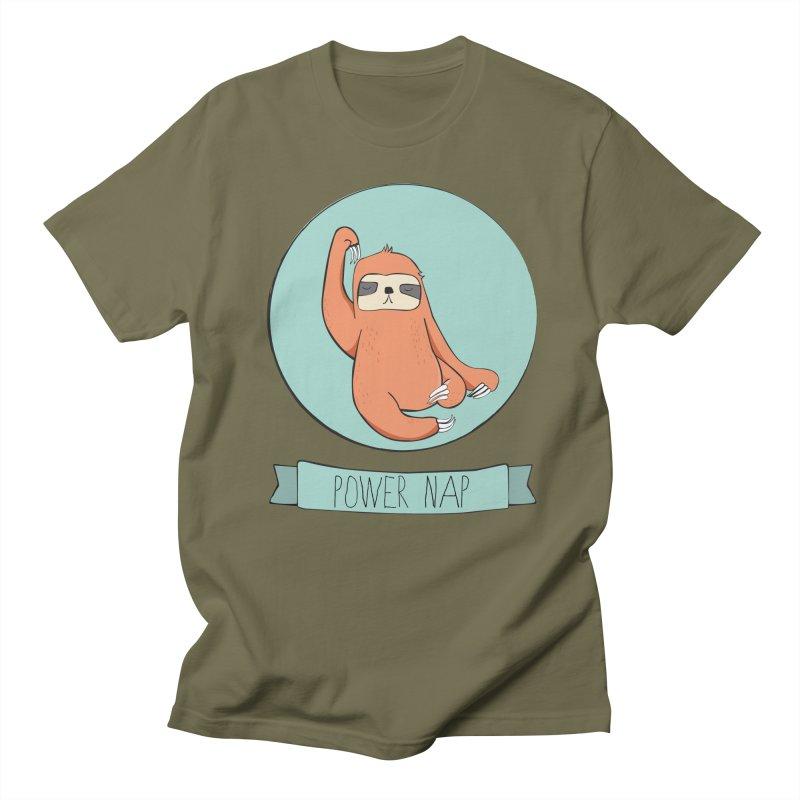 Power Nap Men's Regular T-Shirt by Boshik's Tshirt Shop
