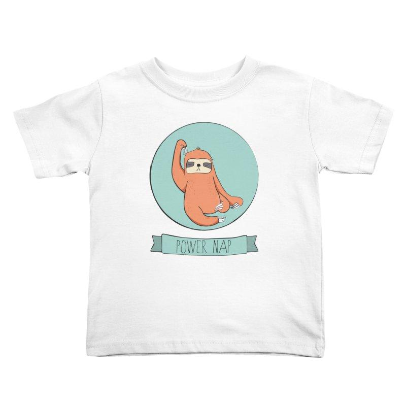 Power Nap Kids Toddler T-Shirt by Boshik's Tshirt Shop