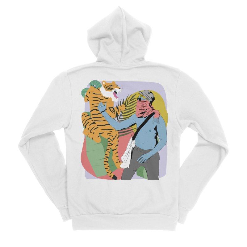 Namer Men's Zip-Up Hoody by Boshik's Tshirt Shop