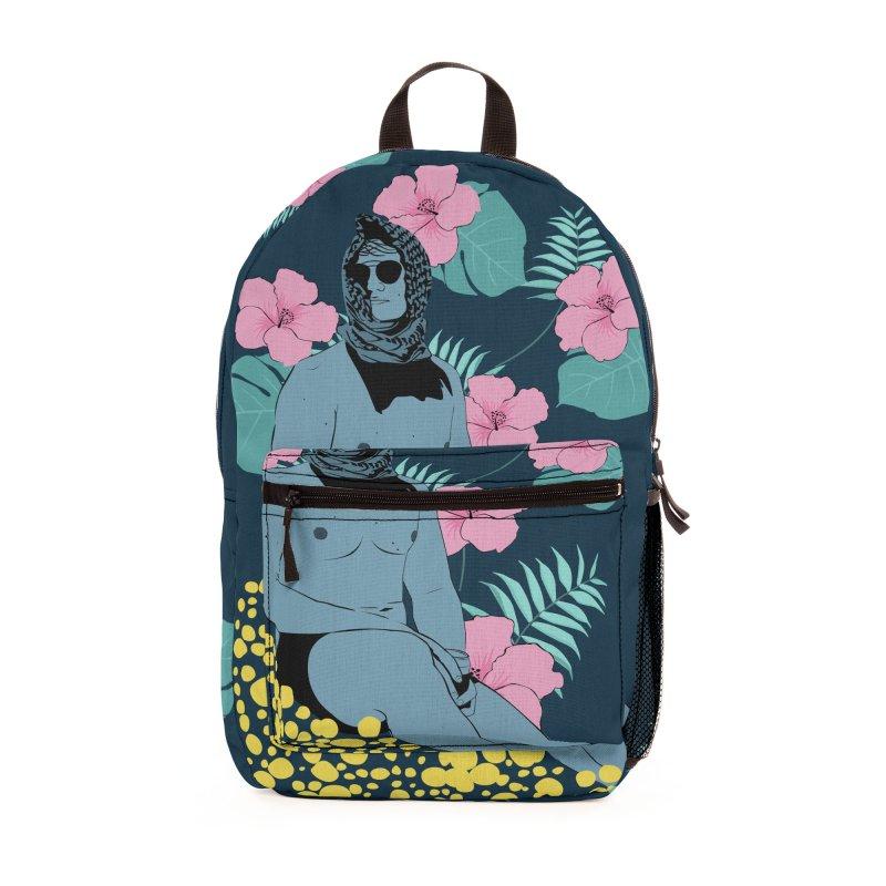 Floral Accessories Bag by Boshik's Tshirt Shop
