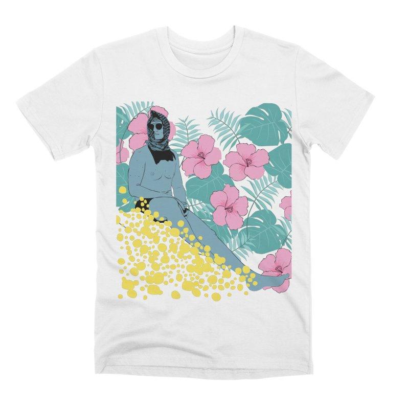 Floral Men's T-Shirt by Boshik's Tshirt Shop