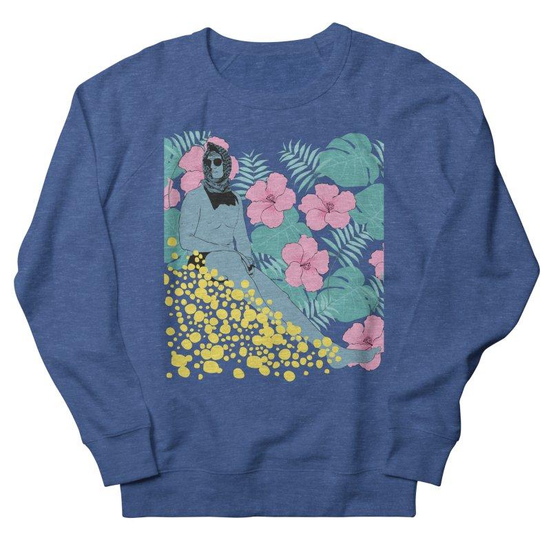 Floral Men's Sweatshirt by Boshik's Tshirt Shop