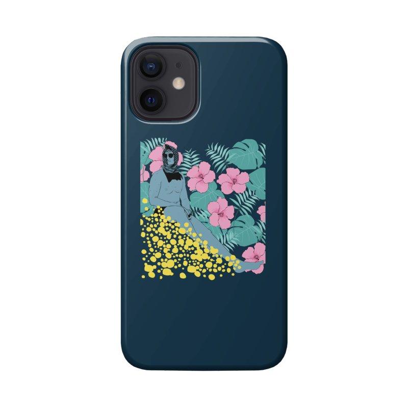 Floral Accessories Phone Case by Boshik's Tshirt Shop