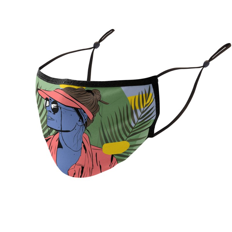 Jade Accessories Face Mask by Boshik's Tshirt Shop