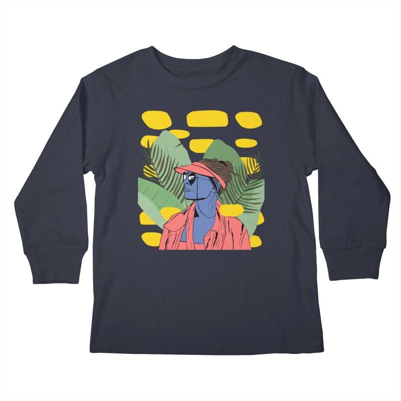 Jade Kids Longsleeve T-Shirt by Boshik's Tshirt Shop