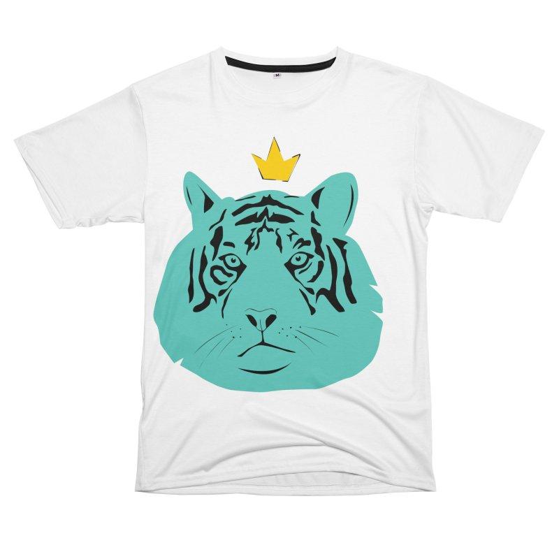 Tigerking Men's Cut & Sew by Boshik's Tshirt Shop