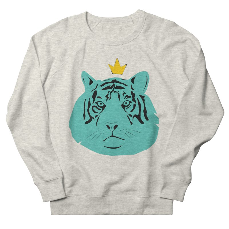 Tigerking Men's Sweatshirt by Boshik's Tshirt Shop