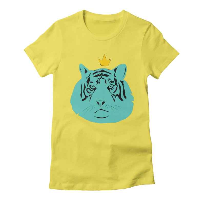 Tigerking Women's T-Shirt by Boshik's Tshirt Shop
