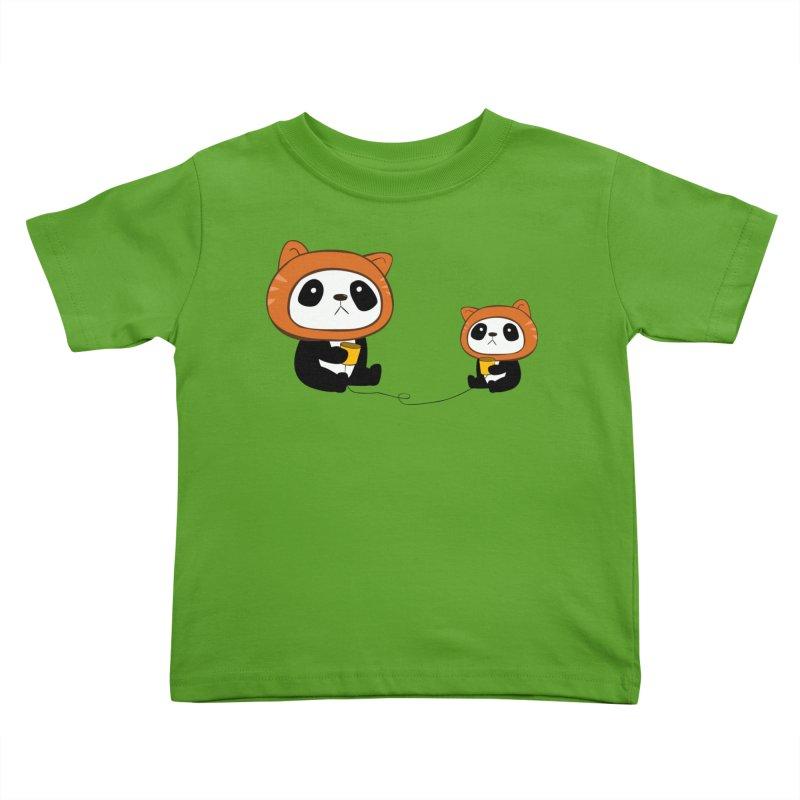 Pandacats Kids Toddler T-Shirt by Boshik's Tshirt Shop