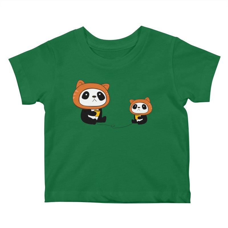 Pandacats Kids Baby T-Shirt by Boshik's Tshirt Shop