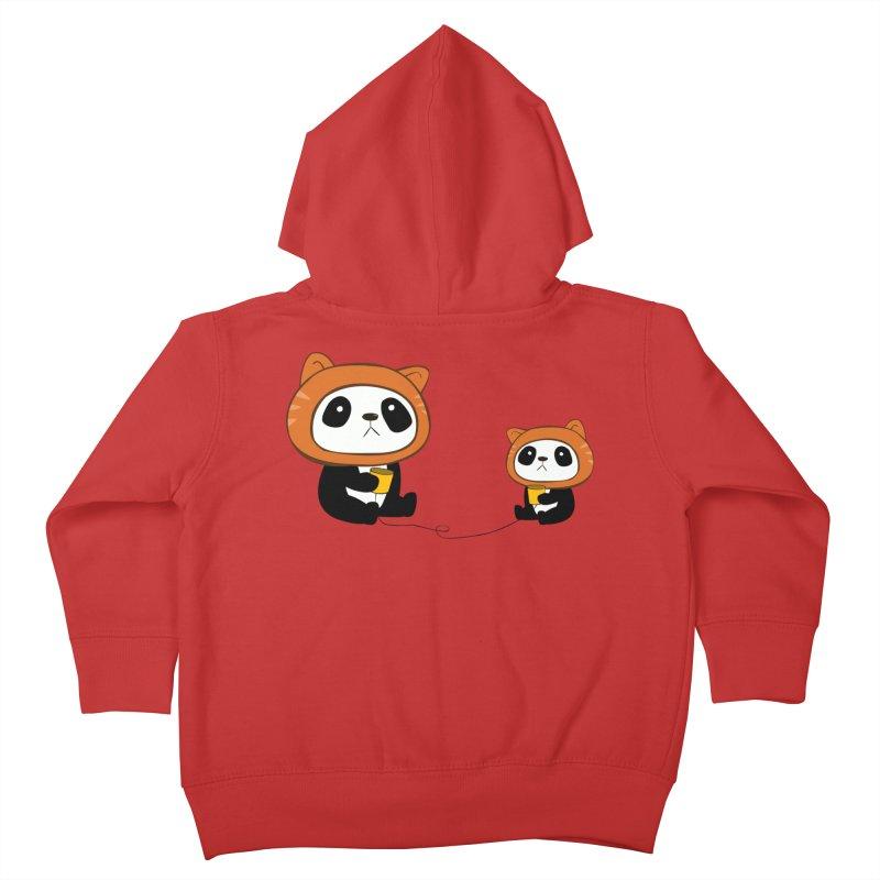 Pandacats Kids Toddler Zip-Up Hoody by Boshik's Tshirt Shop