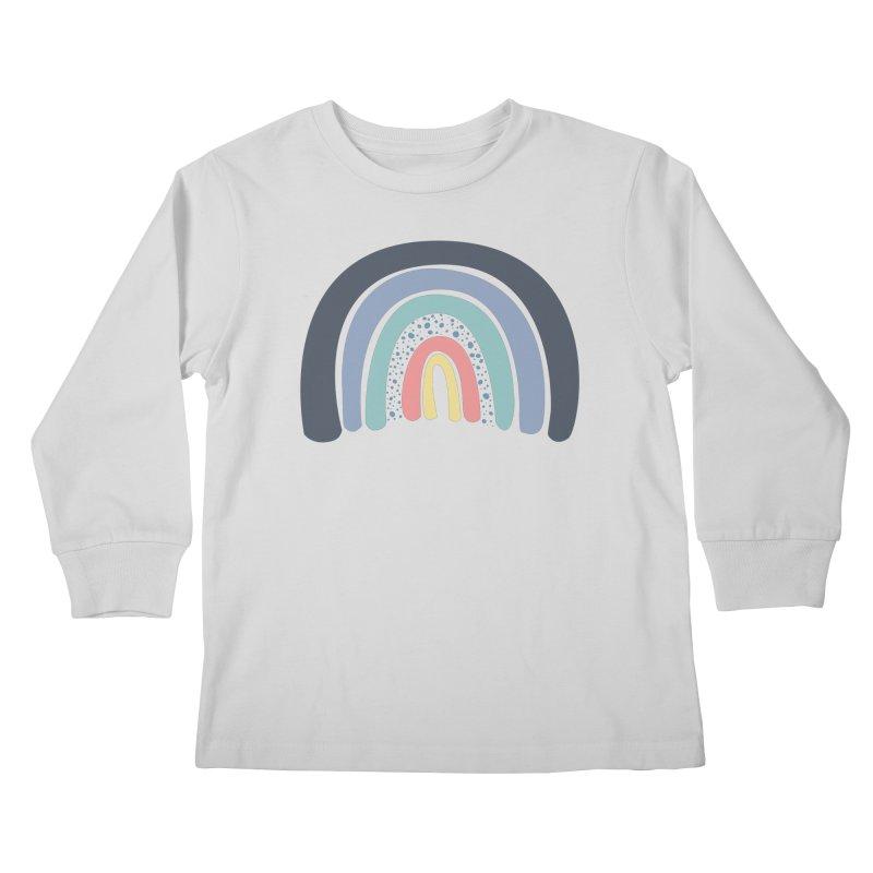 She's a Rainbow Kids Longsleeve T-Shirt by Boshik's Tshirt Shop