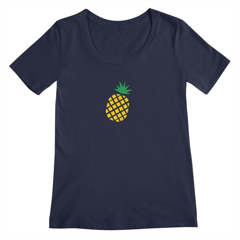 When life gives you lemons Women's Regular Scoop Neck by Boshik's Tshirt Shop