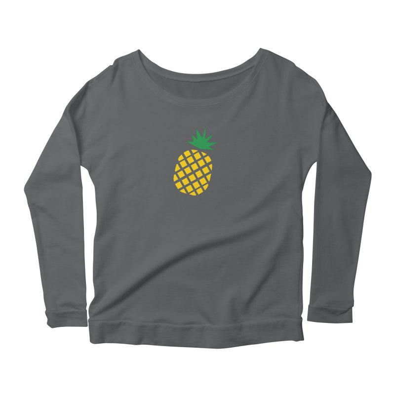 When life gives you lemons Women's Scoop Neck Longsleeve T-Shirt by Boshik's Tshirt Shop