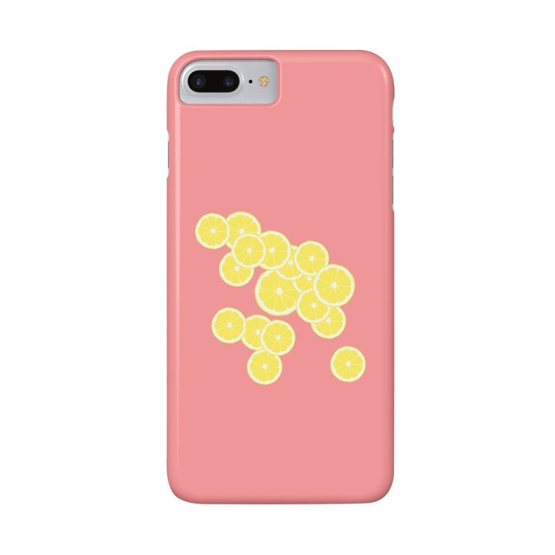 When life gives you lemons Accessories Phone Case by Boshik's Tshirt Shop