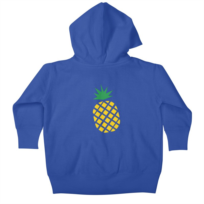 When life gives you lemons Kids Baby Zip-Up Hoody by Boshik's Tshirt Shop