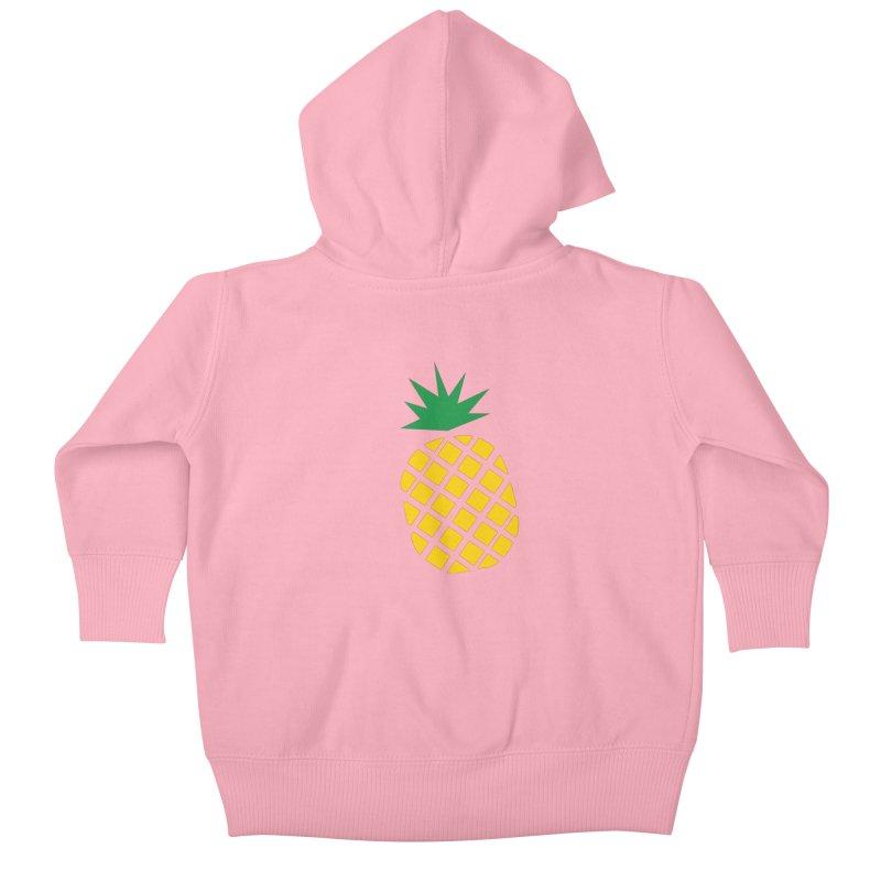 When life gives you lemons Kids Baby Zip-Up Hoody by Boshik's Tshirt Shop
