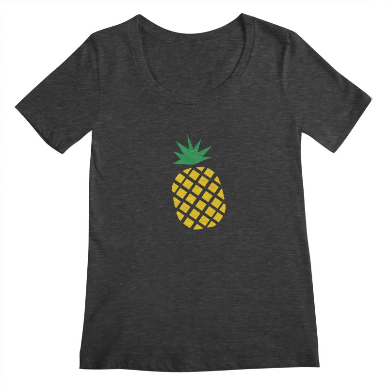 When life gives you lemons Women's Scoopneck by Boshik's Tshirt Shop
