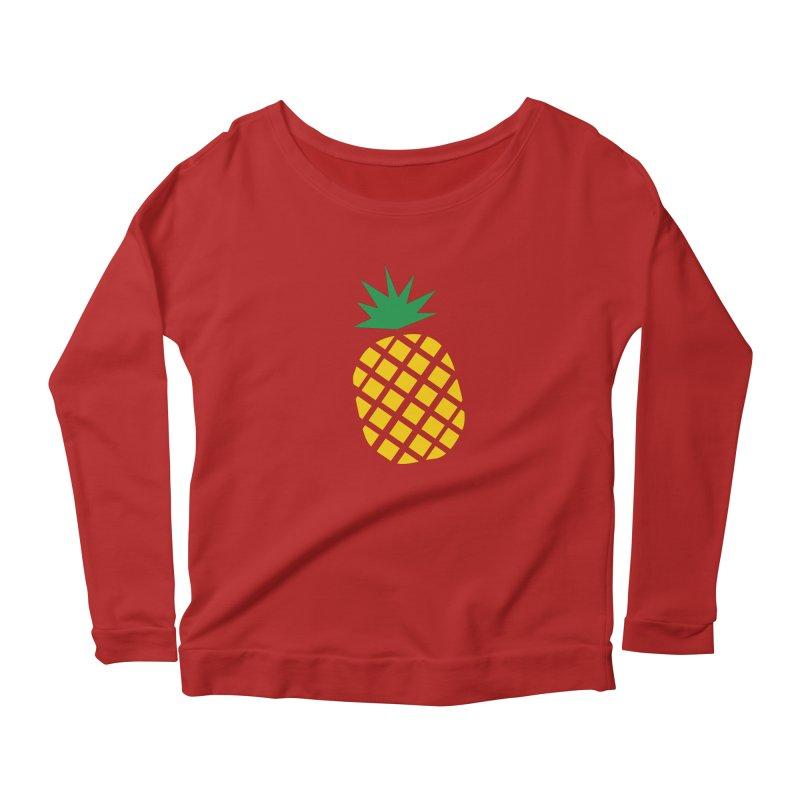 When life gives you lemons Women's Longsleeve Scoopneck  by Boshik's Tshirt Shop
