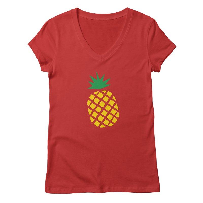 When life gives you lemons Women's V-Neck by Boshik's Tshirt Shop