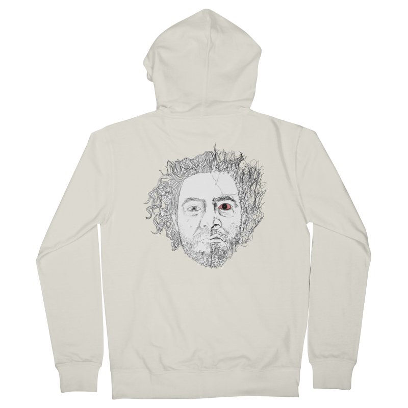 Dr crazy and mister calmb Women's Zip-Up Hoody by Boshik's Tshirt Shop