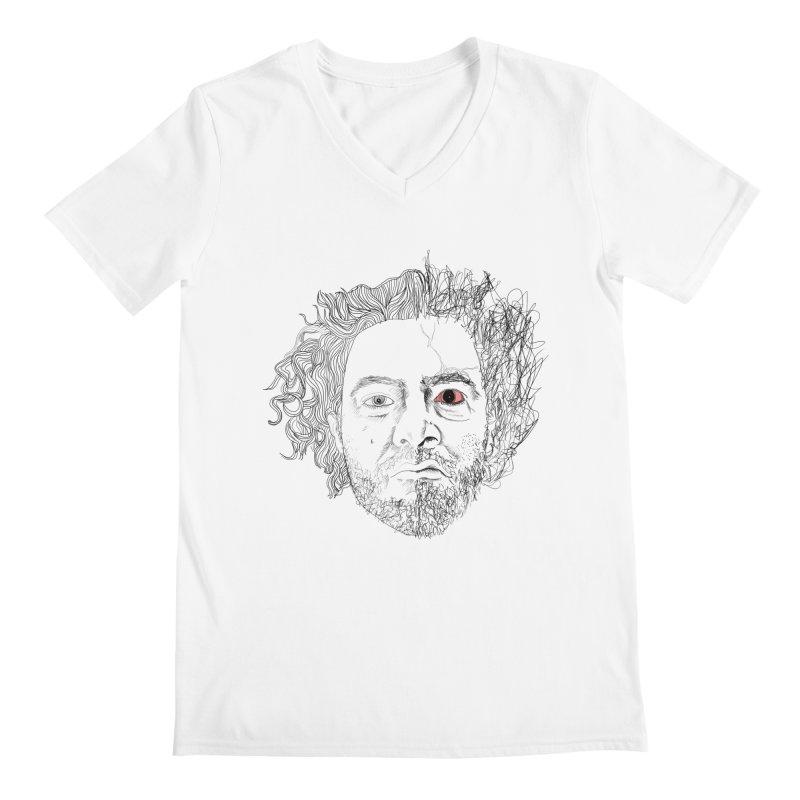 Dr crazy and mister calmb Men's V-Neck by Boshik's Tshirt Shop