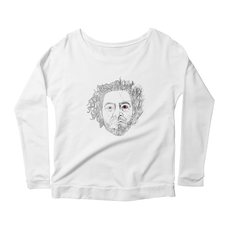 Dr crazy and mister calmb Women's Longsleeve Scoopneck  by Boshik's Tshirt Shop