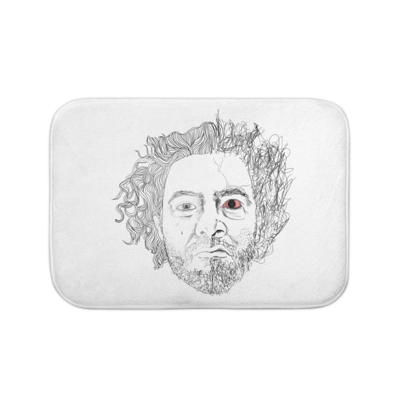 Dr crazy and mister calmb Home Bath Mat by Boshik's Tshirt Shop