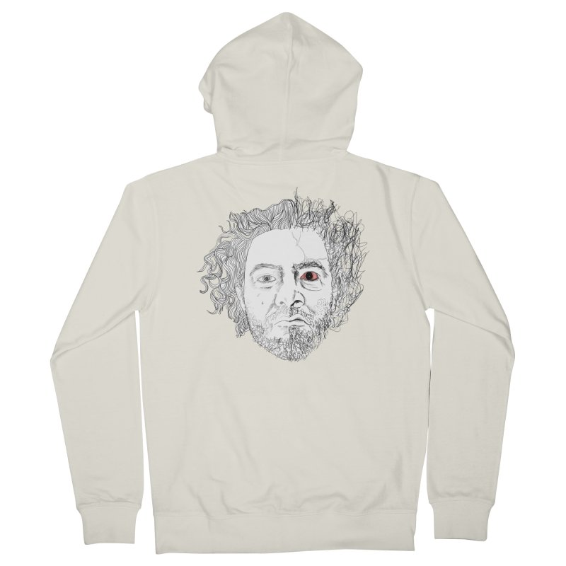 Dr crazy and mister calmb Men's Zip-Up Hoody by Boshik's Tshirt Shop