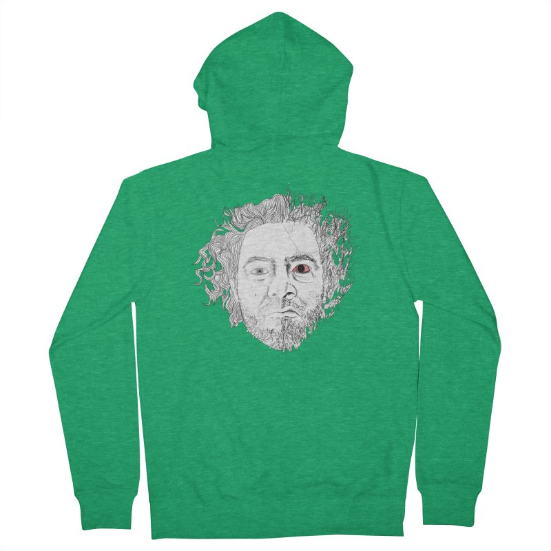 Dr crazy and mister calmb Women's French Terry Zip-Up Hoody by Boshik's Tshirt Shop