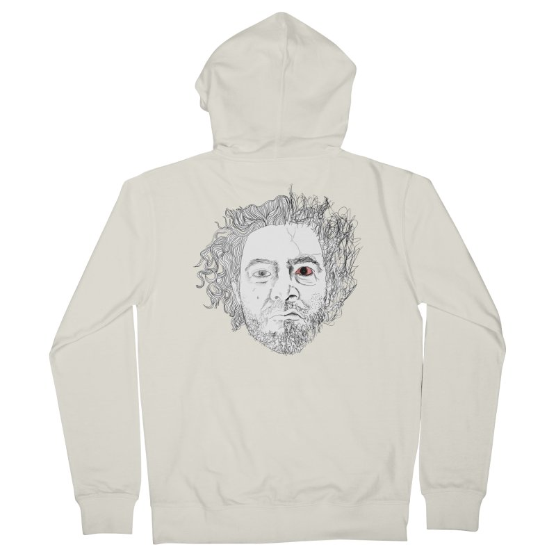 Dr crazy and mister calmb Men's French Terry Zip-Up Hoody by Boshik's Tshirt Shop