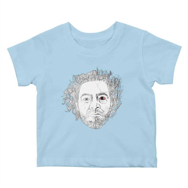 Dr crazy and mister calmb Kids Baby T-Shirt by Boshik's Tshirt Shop