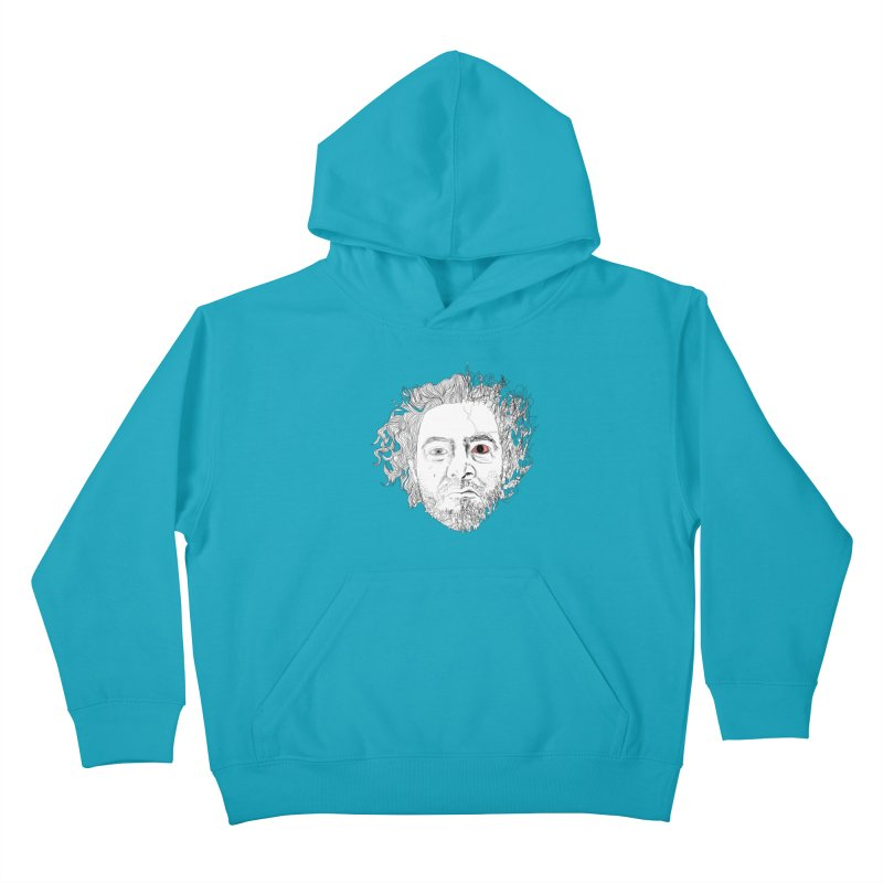 Dr crazy and mister calmb Kids Pullover Hoody by Boshik's Tshirt Shop