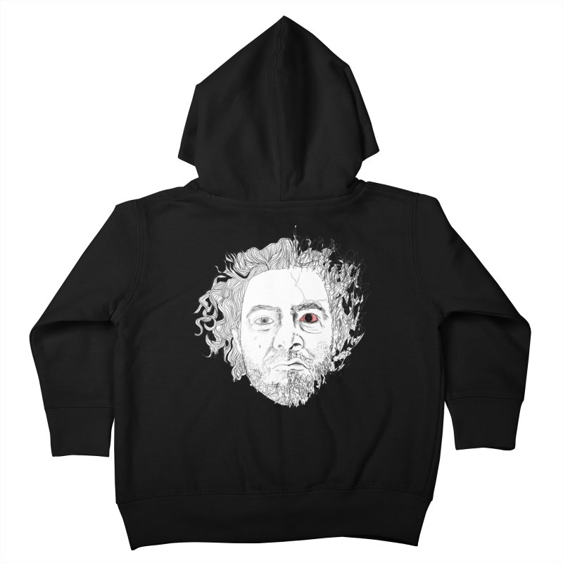 Dr crazy and mister calmb Kids Toddler Zip-Up Hoody by Boshik's Tshirt Shop