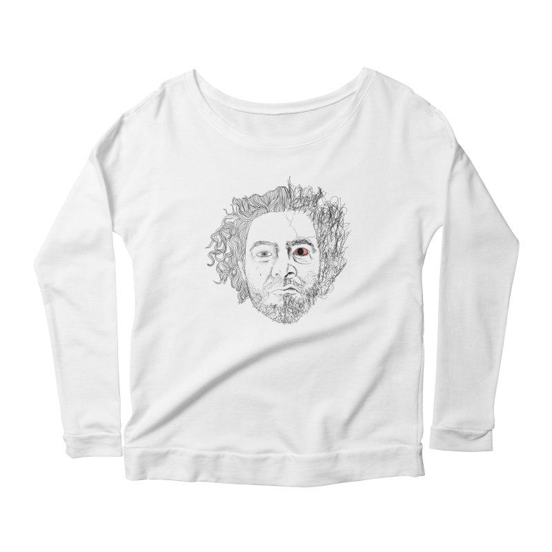 Dr crazy and mister calmb Women's Scoop Neck Longsleeve T-Shirt by Boshik's Tshirt Shop