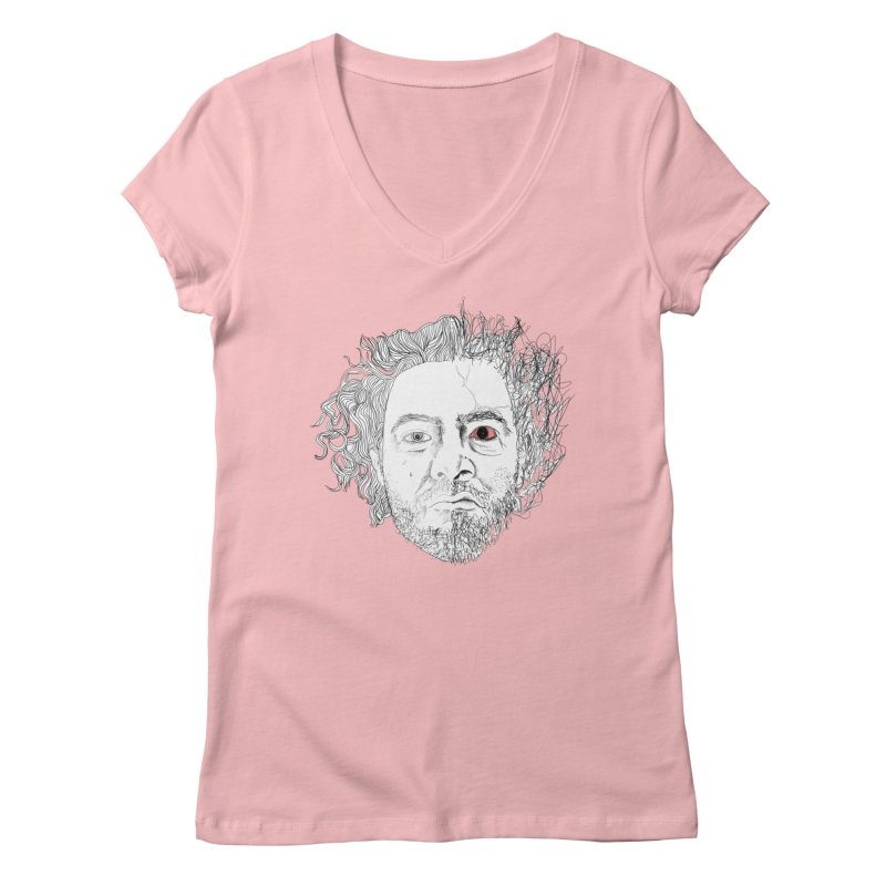 Dr crazy and mister calmb Women's Regular V-Neck by Boshik's Tshirt Shop