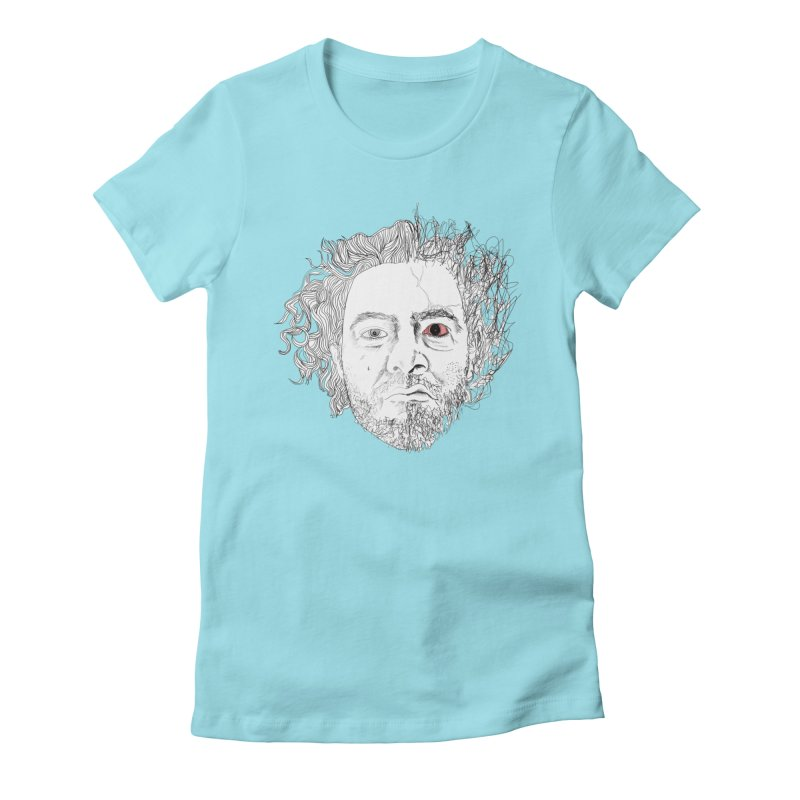 Dr crazy and mister calmb Women's Fitted T-Shirt by Boshik's Tshirt Shop