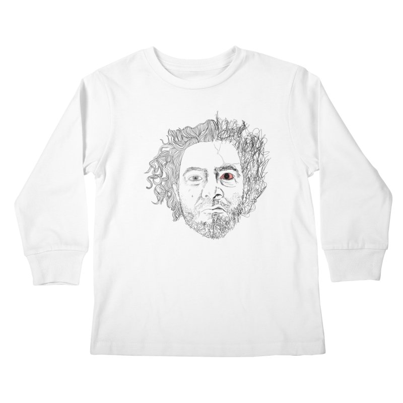 Dr crazy and mister calmb Kids Longsleeve T-Shirt by Boshik's Tshirt Shop