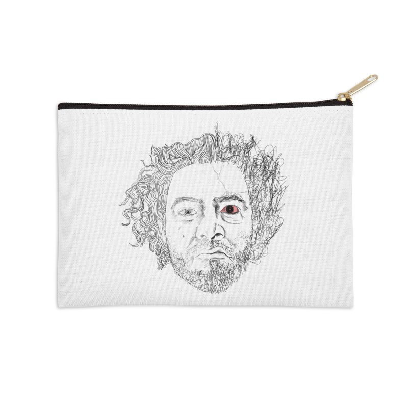 Dr crazy and mister calmb Accessories Zip Pouch by Boshik's Tshirt Shop