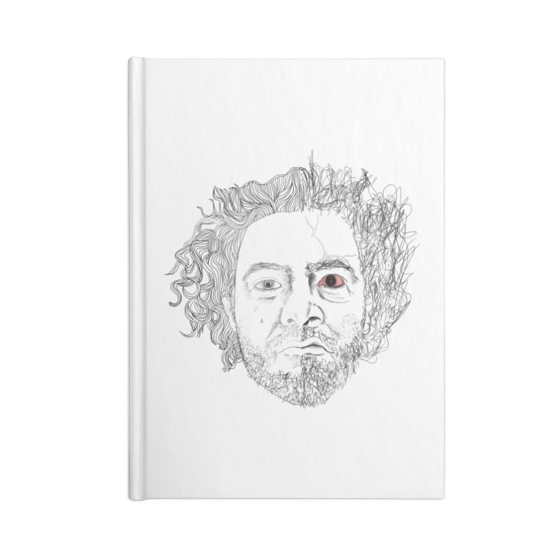 Dr crazy and mister calmb Accessories Notebook by Boshik's Tshirt Shop
