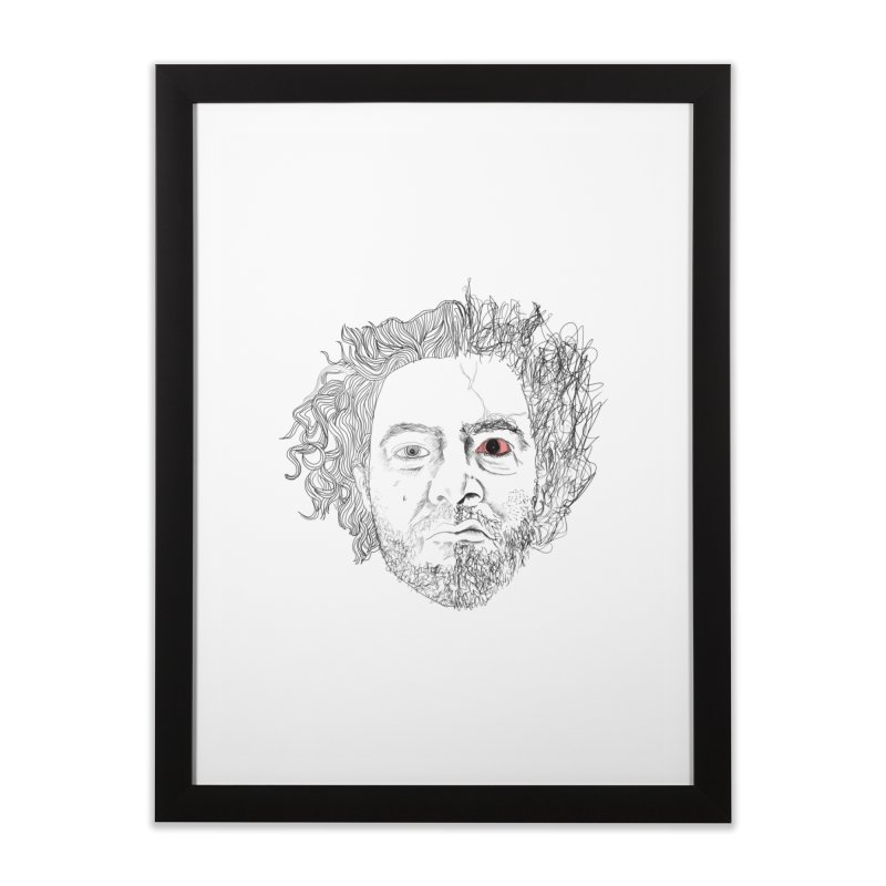 Dr crazy and mister calmb Home Framed Fine Art Print by Boshik's Tshirt Shop