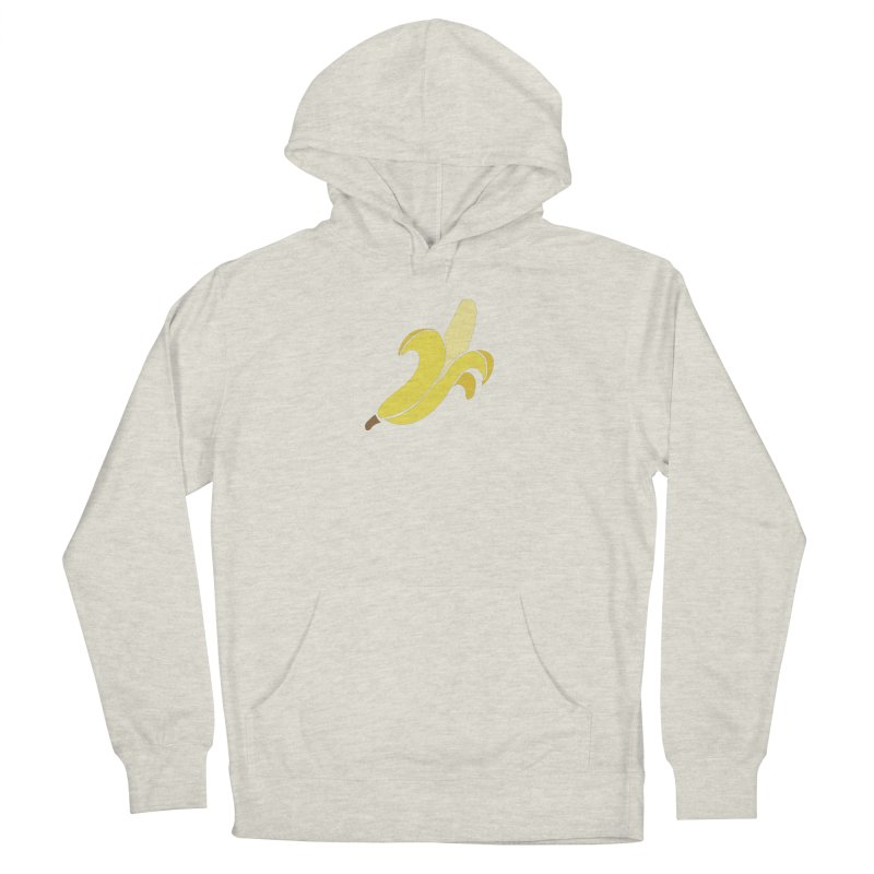 Banana Women's French Terry Pullover Hoody by Boshik's Tshirt Shop
