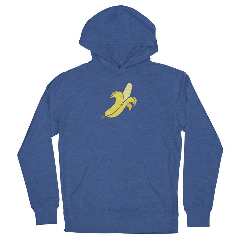 Banana Men's French Terry Pullover Hoody by Boshik's Tshirt Shop